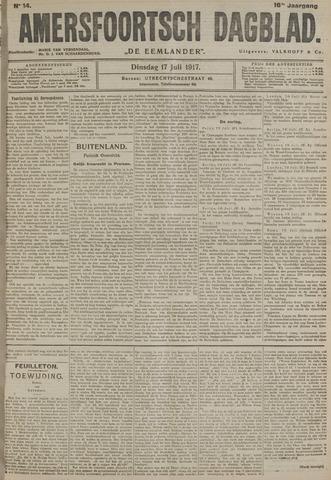 Amersfoortsch Dagblad / De Eemlander 1917-07-17