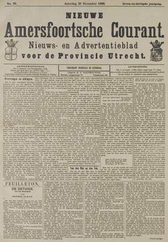 Nieuwe Amersfoortsche Courant 1908-11-28