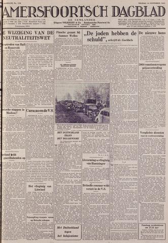 Amersfoortsch Dagblad / De Eemlander 1941-11-14