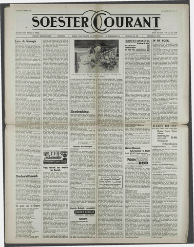 Soester Courant 1954-04-30