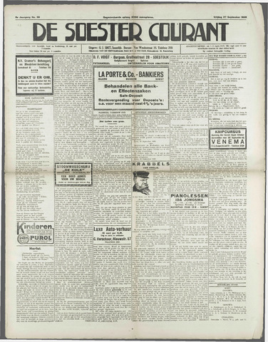 Soester Courant 1929-09-27