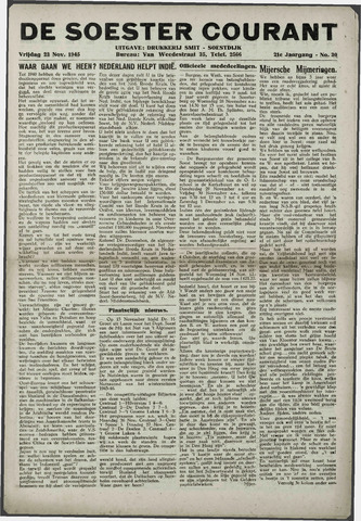 Soester Courant 1945-11-23