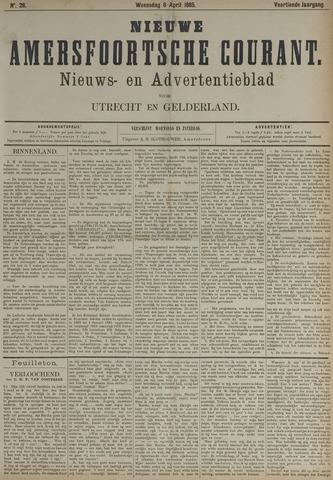 Nieuwe Amersfoortsche Courant 1885-04-08