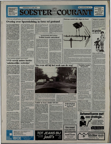 Soester Courant 1987-06-10