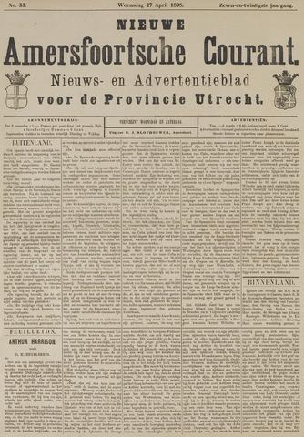 Nieuwe Amersfoortsche Courant 1898-04-27