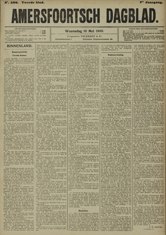 Amersfoortsch Dagblad 1909-05-19