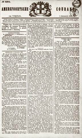 Amersfoortsche Courant 1863