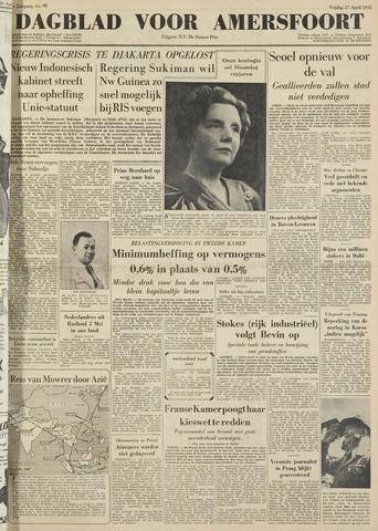 Dagblad voor Amersfoort 1951-04-27