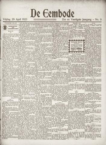 De Eembode 1932-04-29