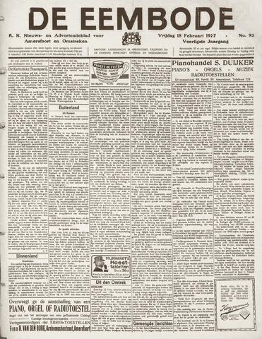 De Eembode 1927-02-18