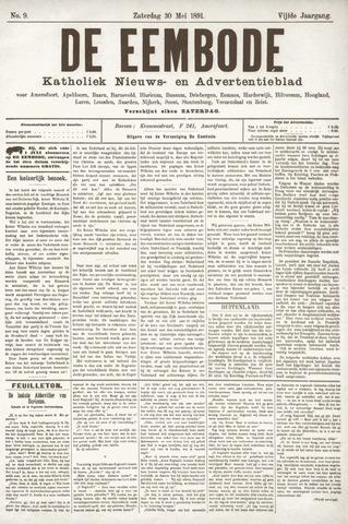 De Eembode 1891-05-30