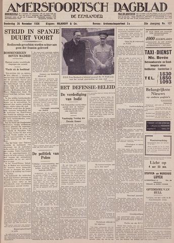Amersfoortsch Dagblad / De Eemlander 1936-11-26