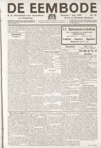 De Eembode 1923-08-07