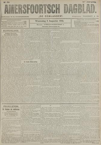 Amersfoortsch Dagblad / De Eemlander 1913-08-06