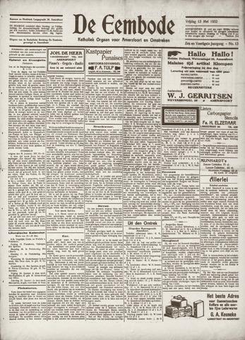 De Eembode 1932-05-13