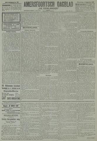 Amersfoortsch Dagblad / De Eemlander 1921-08-03
