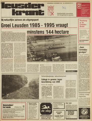 Leusder Krant 1981-11-05