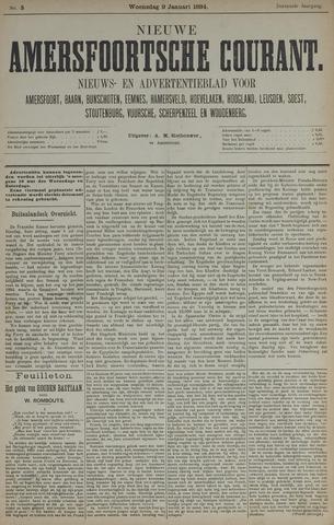 Nieuwe Amersfoortsche Courant 1884-01-09