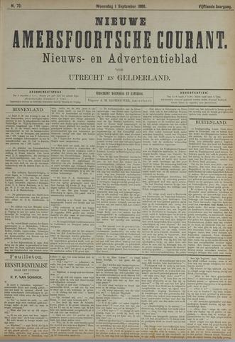 Nieuwe Amersfoortsche Courant 1886-09-01
