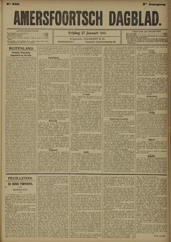 Amersfoortsch Dagblad 1911-01-27