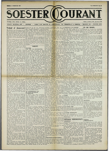 Soester Courant 1959-02-06