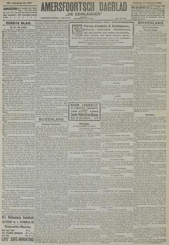 Amersfoortsch Dagblad / De Eemlander 1922-02-25