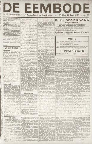 De Eembode 1923-01-19