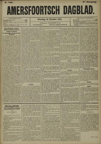 Amersfoortsch Dagblad 1910-10-18