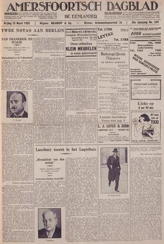 Amersfoortsch Dagblad / De Eemlander 1935-03-22