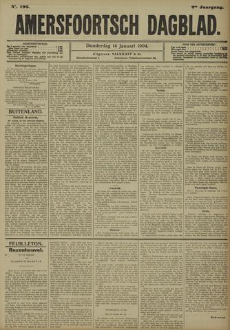 Amersfoortsch Dagblad 1904-01-14