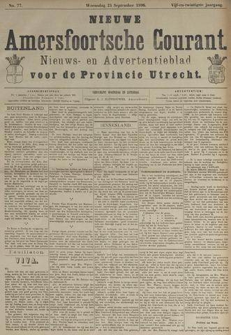 Nieuwe Amersfoortsche Courant 1896-09-23