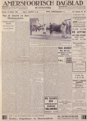 Amersfoortsch Dagblad / De Eemlander 1936-10-10