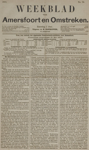 Weekblad voor Amersfoort en Omstreken 1873-06-07