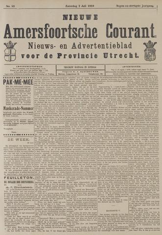 Nieuwe Amersfoortsche Courant 1910-07-02