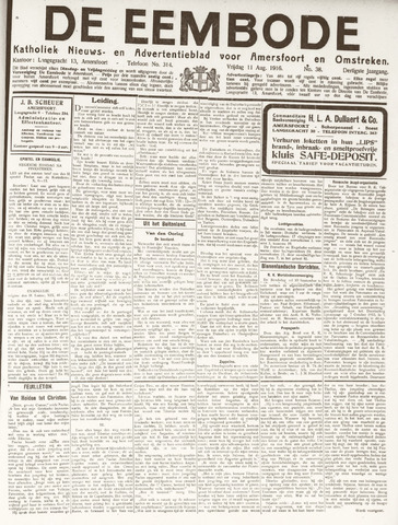 De Eembode 1916-08-11