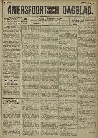 Amersfoortsch Dagblad 1909-12-03