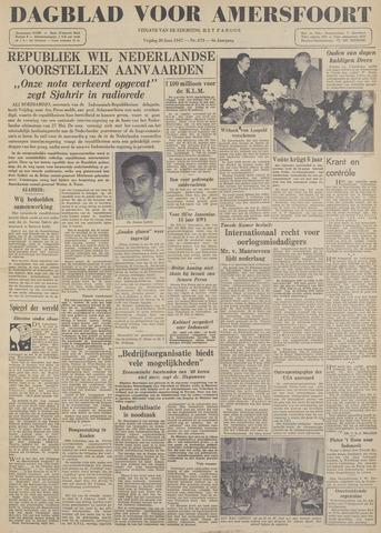 Dagblad voor Amersfoort 1947-06-20