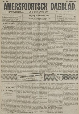 Amersfoortsch Dagblad / De Eemlander 1916-10-27
