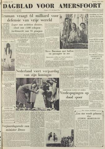 Dagblad voor Amersfoort 1951-05-01