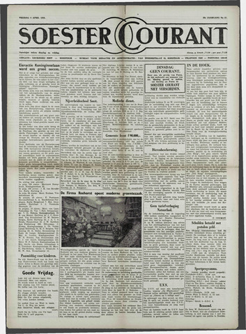 Soester Courant 1958-04-04