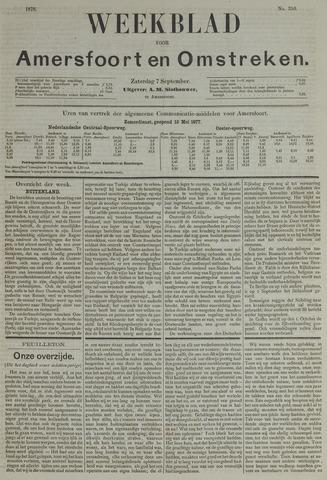 Weekblad voor Amersfoort en Omstreken 1878-09-07