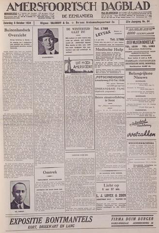 Amersfoortsch Dagblad / De Eemlander 1934-10-06