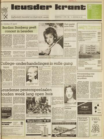 Leusder Krant 1986-04-17