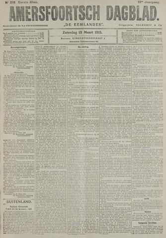 Amersfoortsch Dagblad / De Eemlander 1915-03-13