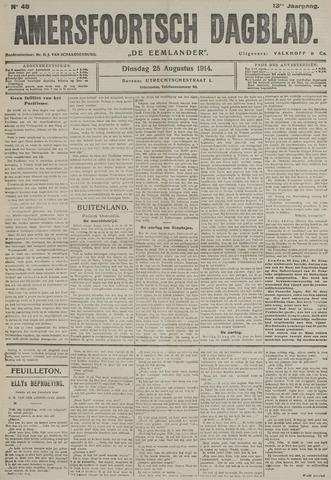 Amersfoortsch Dagblad / De Eemlander 1914-08-25