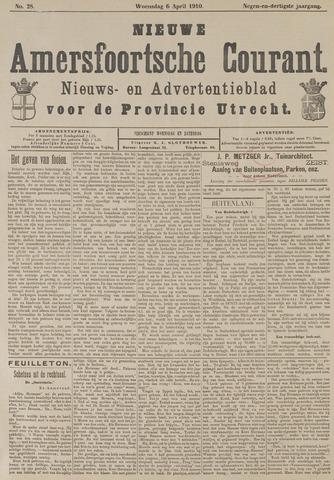 Nieuwe Amersfoortsche Courant 1910-04-06
