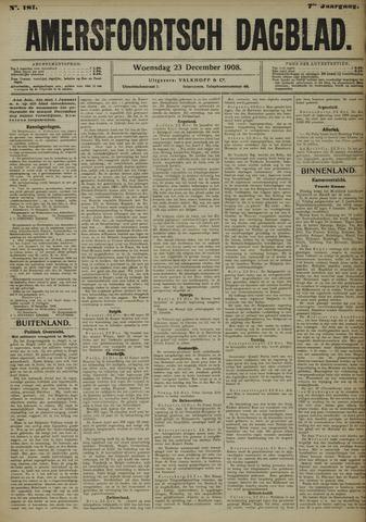 Amersfoortsch Dagblad 1908-12-23