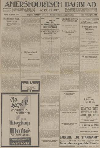 Amersfoortsch Dagblad / De Eemlander 1934-01-05