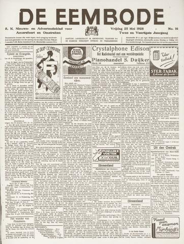 De Eembode 1928-05-25