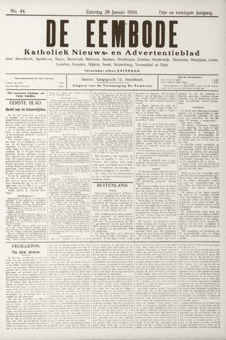 De Eembode 1910-01-29